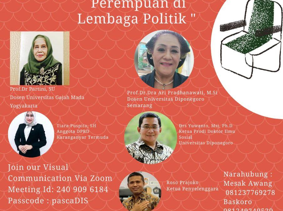 Diskusi Publik Perempuan dan Politik